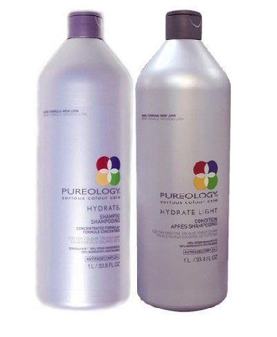 Pureology Hydrate Shampoo And Hydrate Light Conditioner Liter DUO ** You can get more details by clicking on the image.