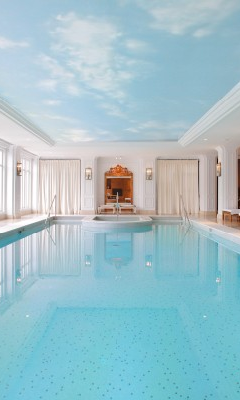 Indoor swimming pool luxus  Review of InterContinental Amstel Amsterdam Hotel | Amsterdam ...