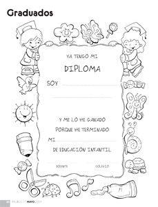 ESPAÇO EDUCAR: Desenhos de formatura para colorir, pintar