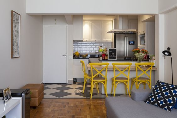 Ideas para Incluir Sala, Cocina y Comedor Juntos