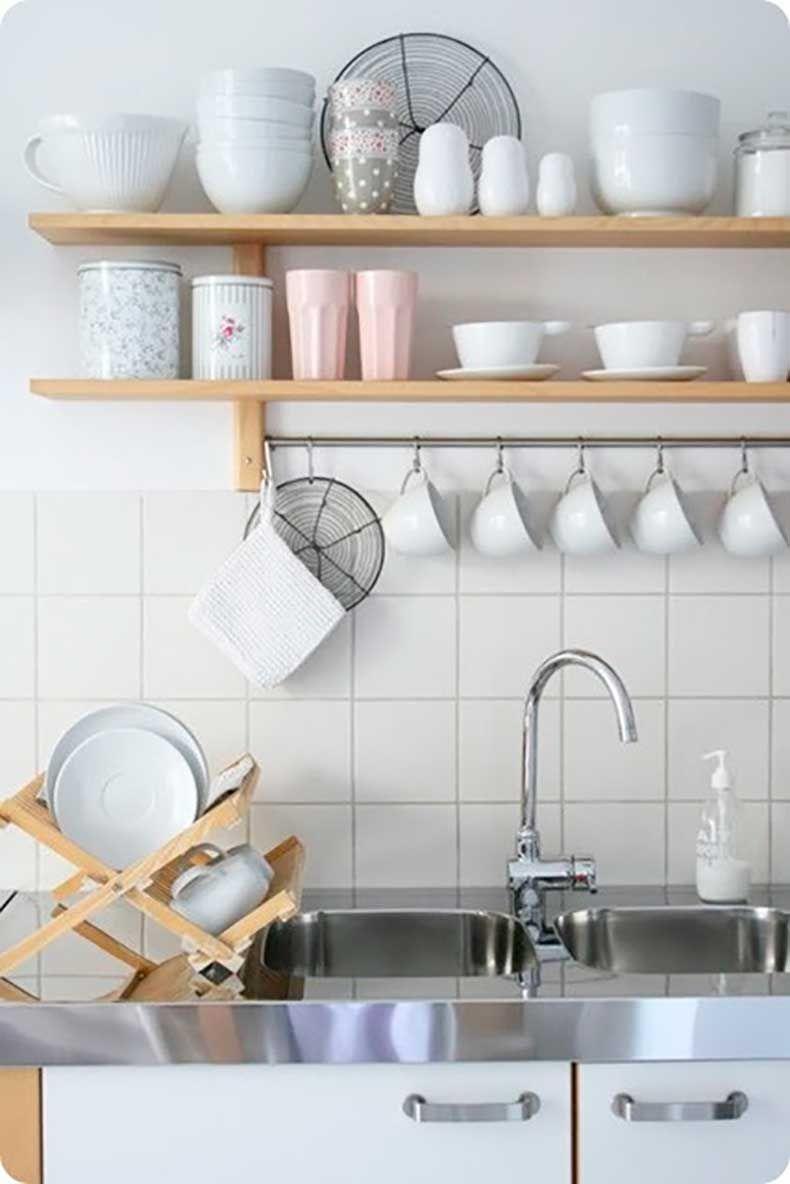 Inspiración Para Cocinas: Estanterías Abiertas | For the Home ...