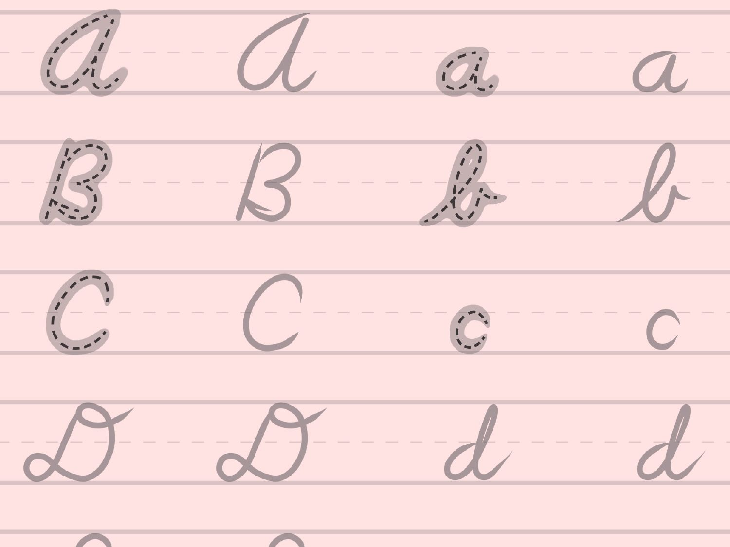 Your Child Can Practice Writing In Cursive With This