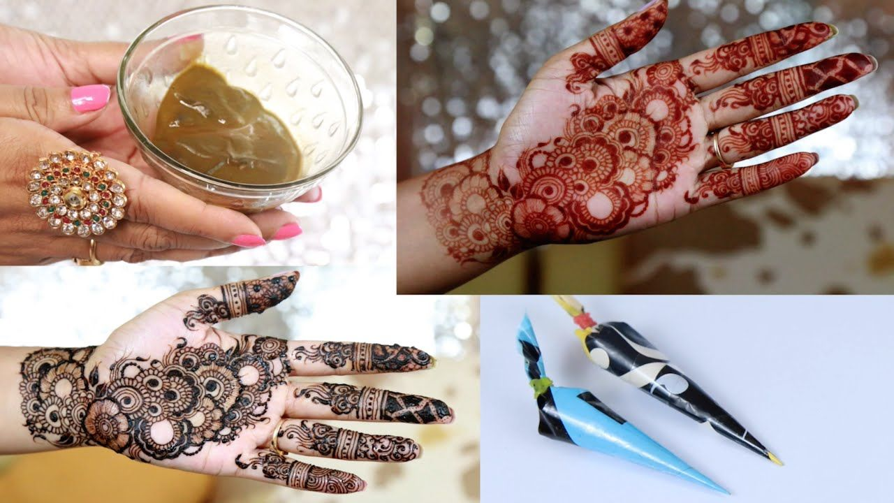 How To Make Henna Paste For Darkest Red Stain How To Make Henna Henna Tattoo Recipe Henna Tattoo