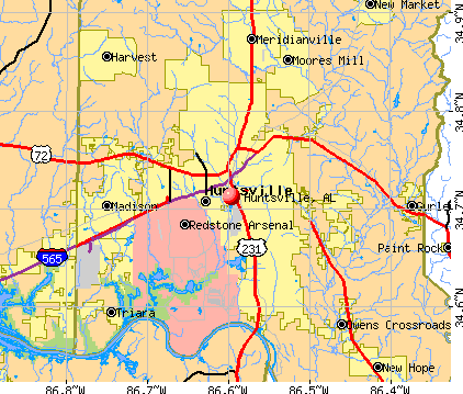 Huntsville Al Map Huntsville, AL map | Places I have lived | Alabama, Sweet home