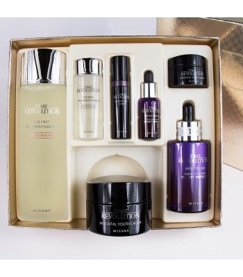 Missha Anti Aging Skin Face Korea Products Missha Time Revolution Missha Skincare Set