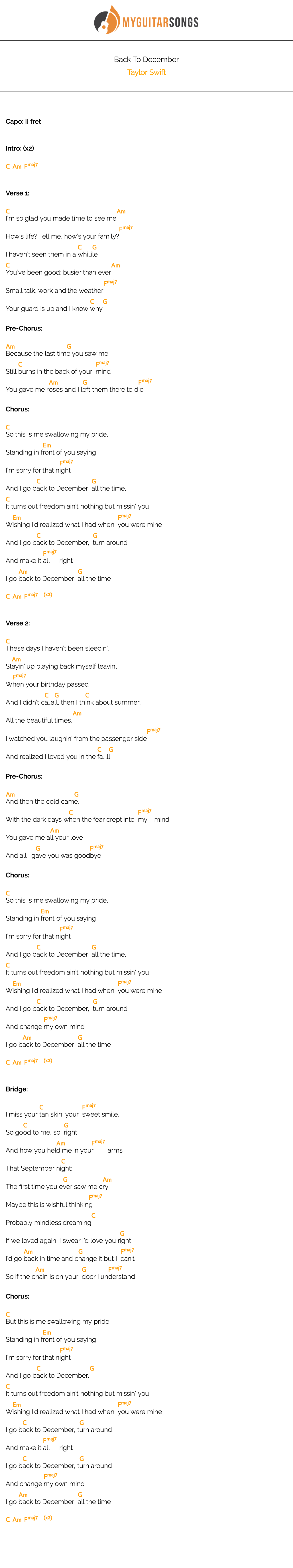 Back To December by Taylor Swift   Taylor swift songs, Taylor ...