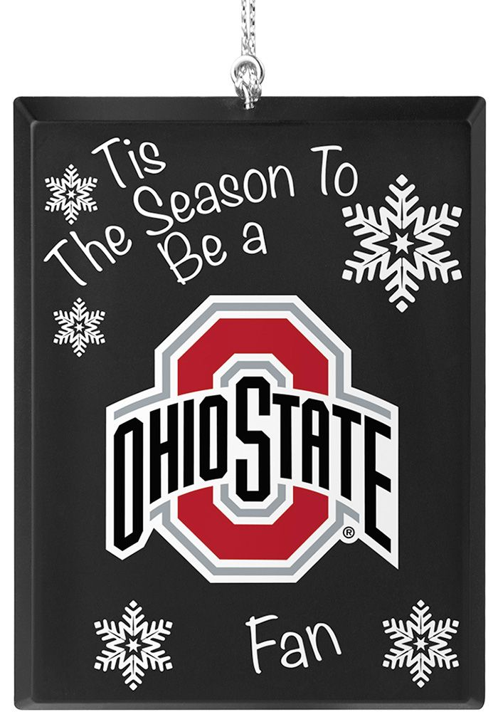 Ohio State Buckeyes Tis the Season Ornament - 1380724