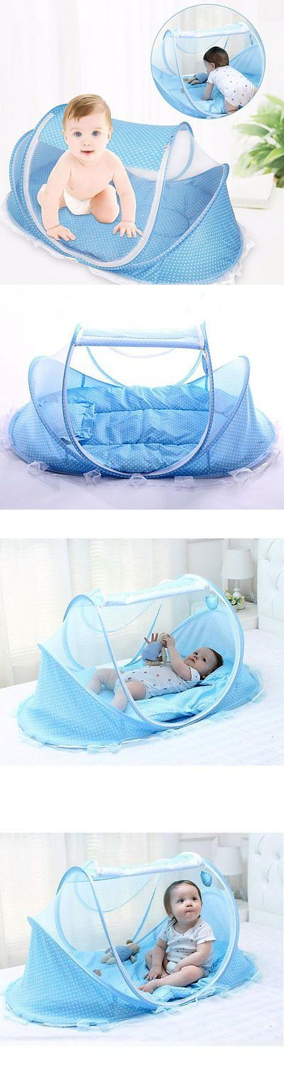 Canopies and Netting 180905 Travel Crib Baby Tent Bed With Mosquito Net Outdoor Portable Instant  sc 1 st  Pinterest : infant tent bed - memphite.com