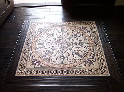 Tile Inlays Tile Inlays Distinguish The Floors And Tie In With