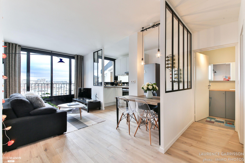 little loft boulogne 43m boulogne billancourt laurence garrisson d corateur d 39 int rieur. Black Bedroom Furniture Sets. Home Design Ideas