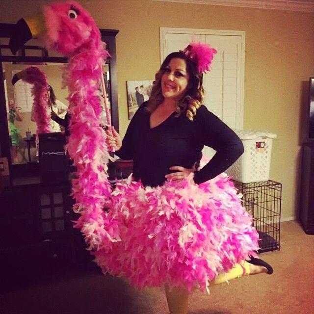 florence the flamingo handmade diycostume halloween pinterest kost m ideen kost m und. Black Bedroom Furniture Sets. Home Design Ideas