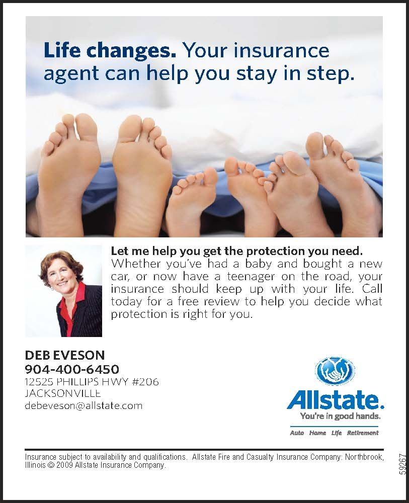 Deb Eveson Allstate Insurance Allstate Insurance Life Changes