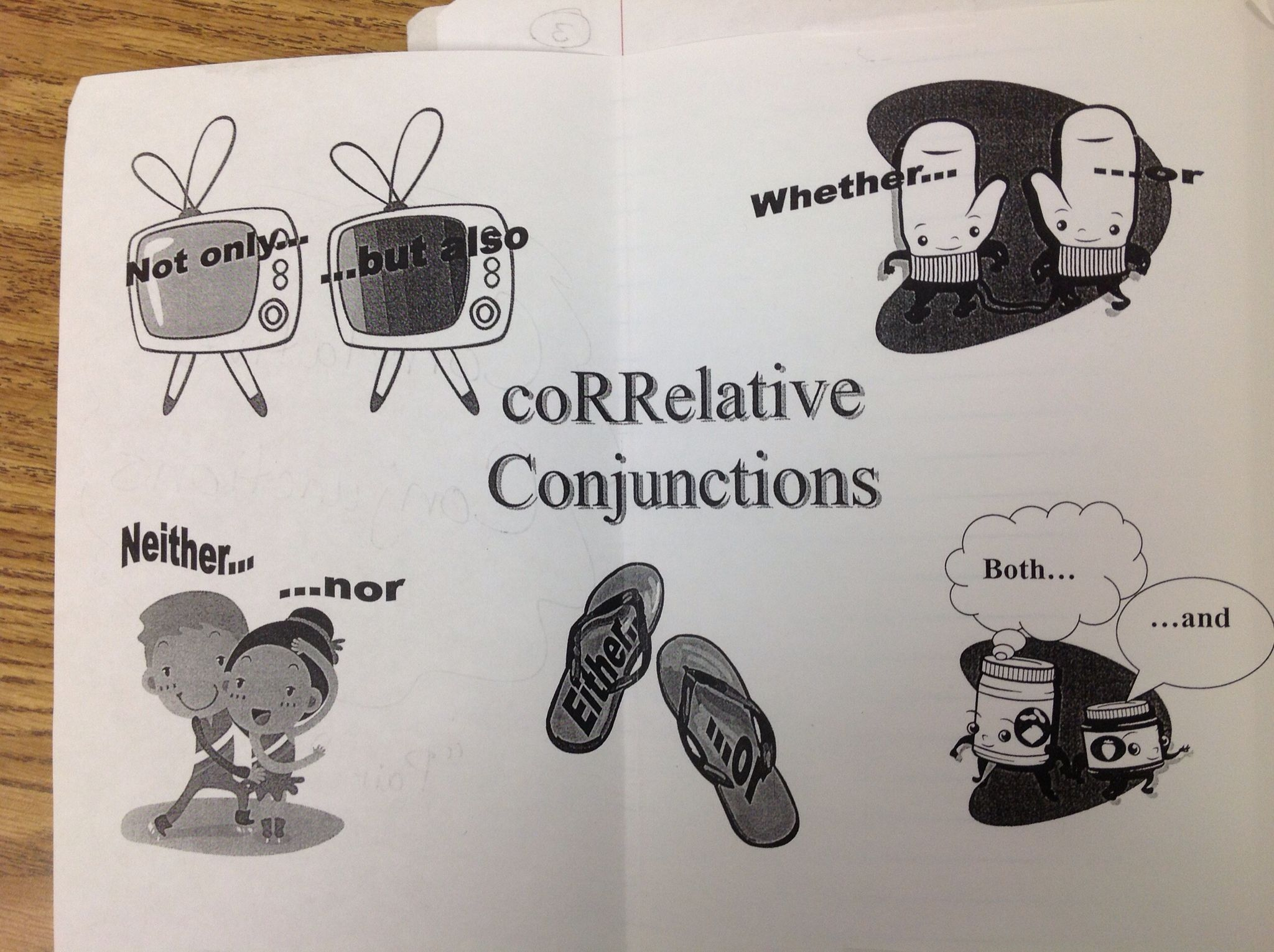 Correlative Conjunctions 6th