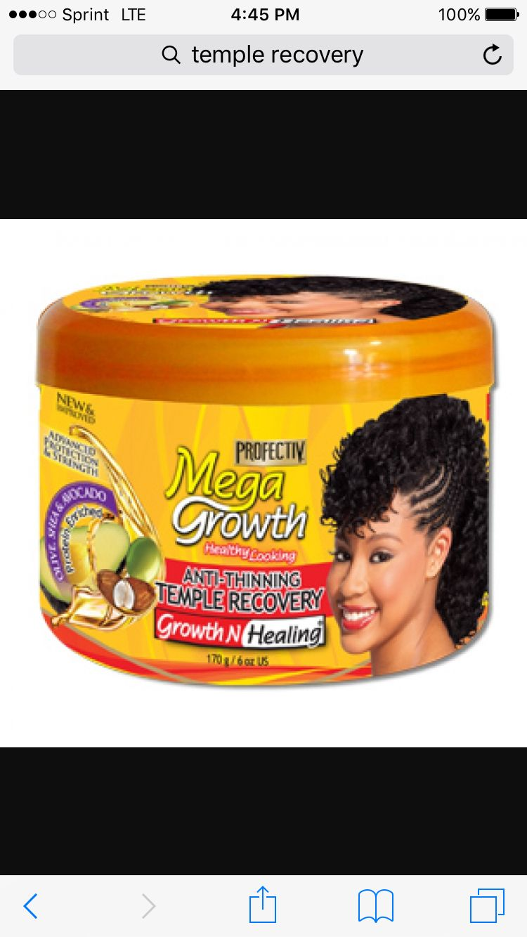 Inexpensive Product For Growing Edges Back Edges Hair