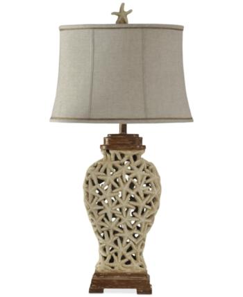 Stylecraft Starfish Weave Table Lamp Reviews All Lighting
