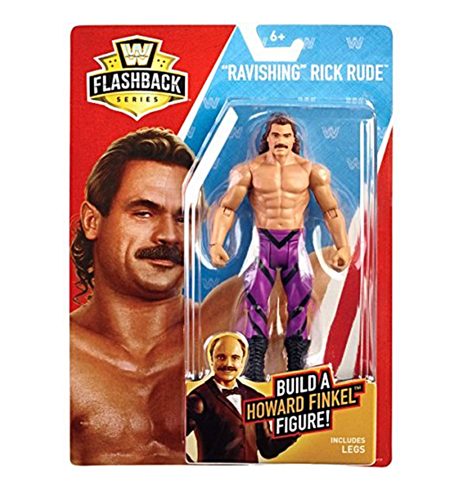 WWE Wrestling Mattel Basic Flashback Exclusive Series Ravishing Rick Rude Figure