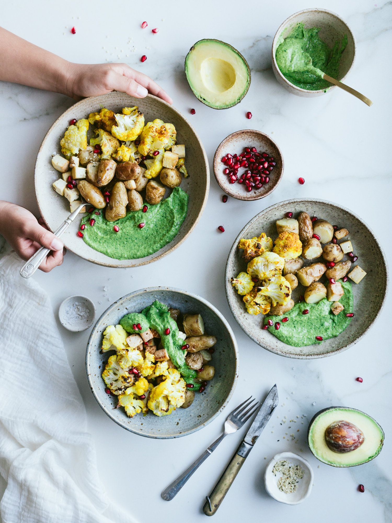 Vegan Green Goddess Sauce Recipe In Collaboration With Gem