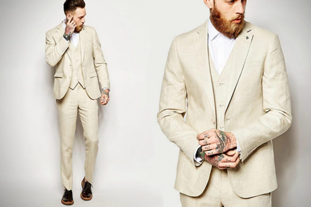 How to Wear a Linen Suit | Linen suit, Mens white linen suit and ...