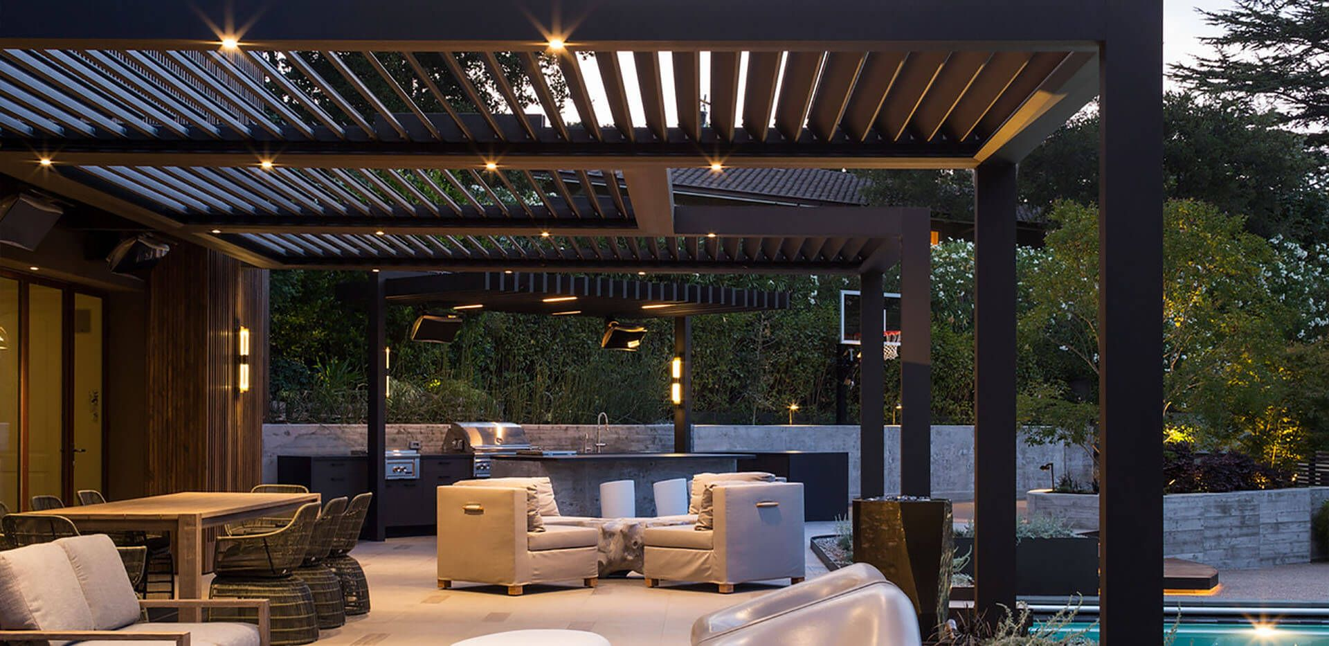 Patio Cover Company Near Me Aluminum Patio Cover Contractors Elite Exteriors In 2020 Roofing Systems Architecture Exterior