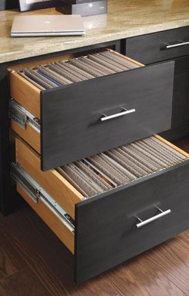 This Double File Drawer Will Keep You Beautifully Organized!