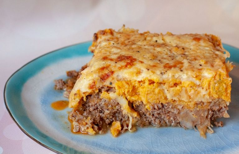Koolhydraatarme Zuurkoolschotel met kaas en pompoen - WayMadi