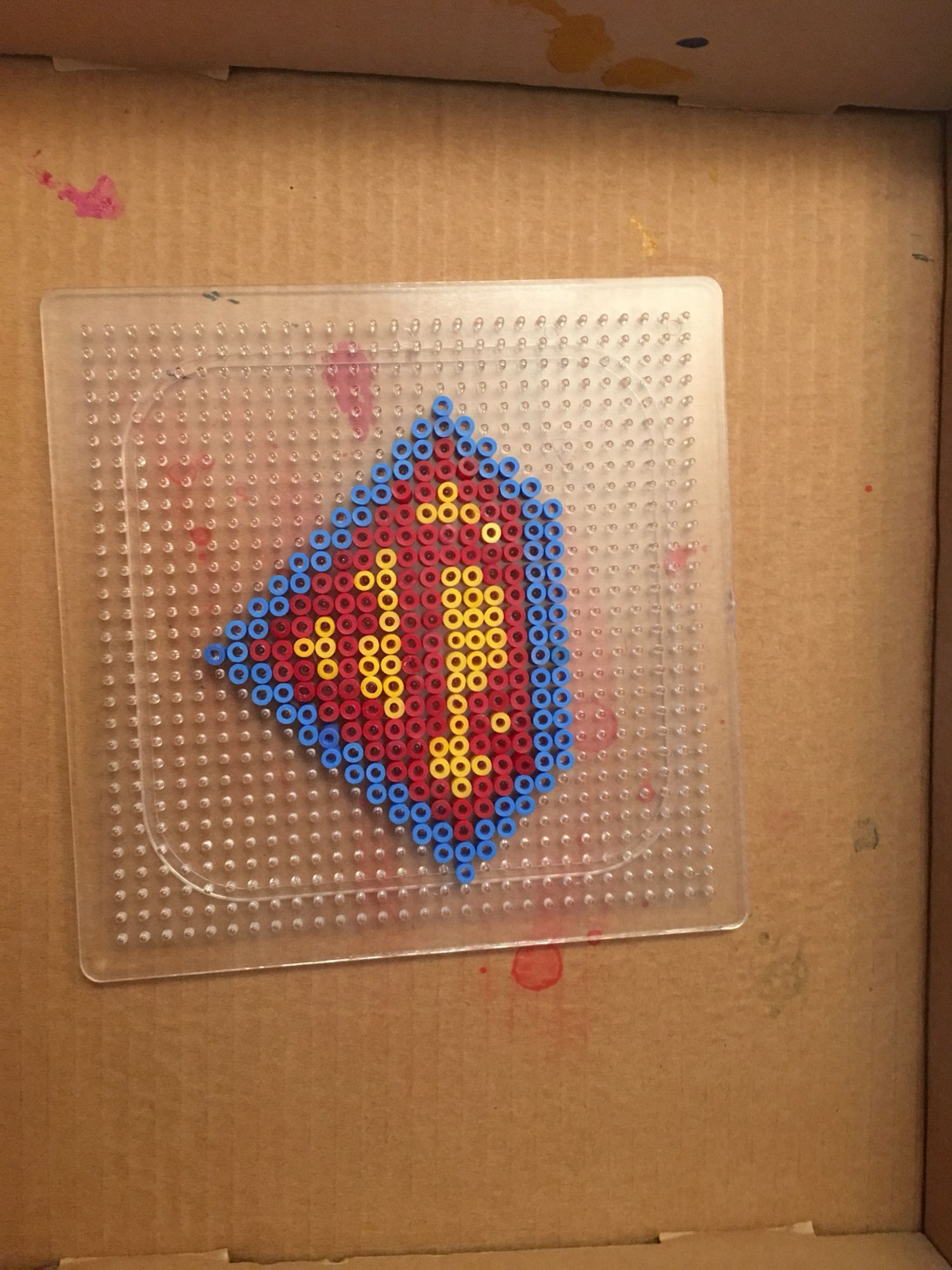 Pärlplatta Superman Pyssel Games