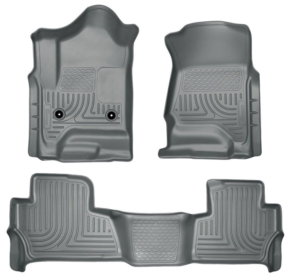 Floor Liner Front And 2nd Seat Floor Liners Footwell Coverage