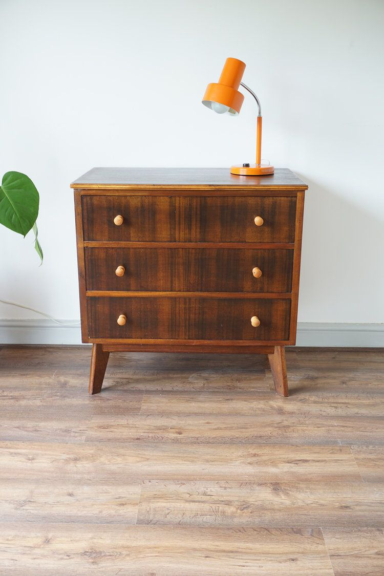 Walnut Sycamore Morris Of Glasgow Chest Of Drawers With Images