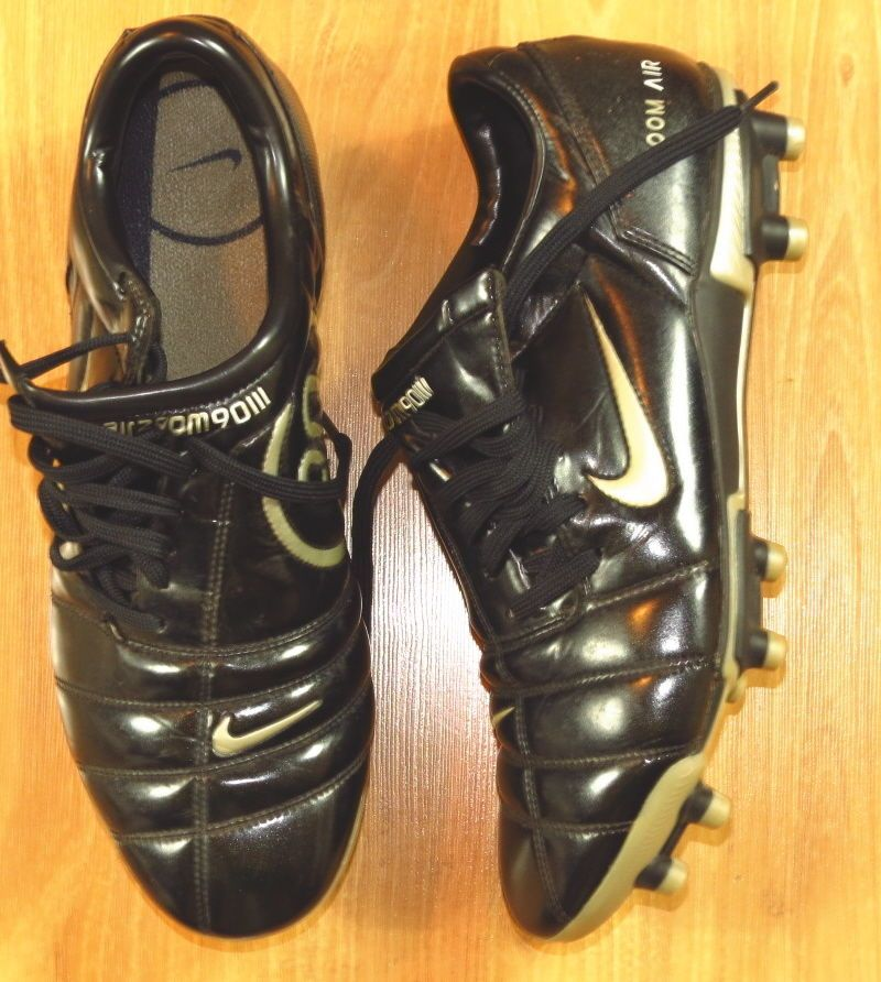 MENS NIKE TOTAL 90 III ZOOM AIR SOCCER SHOES CLEATS SIZE 10