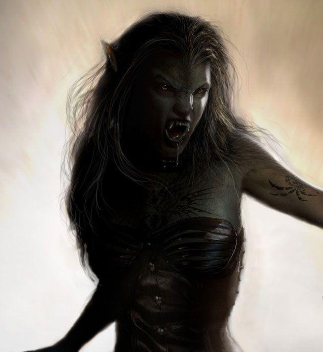 Dating einer weiblichen Vampire