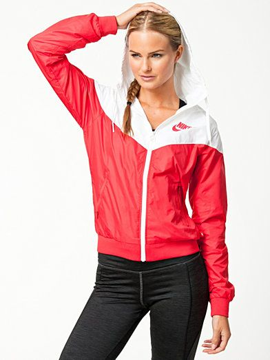 Nike Windrunner - Nike - Red - Jackets And Coats - Sports Fashion - Women -  Nelly.com Uk 3014237bc