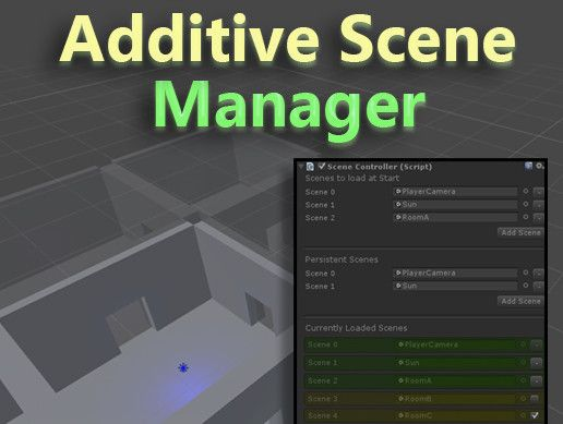 Additive Scene Manager Unity Asset Store Unreal Engine Unity