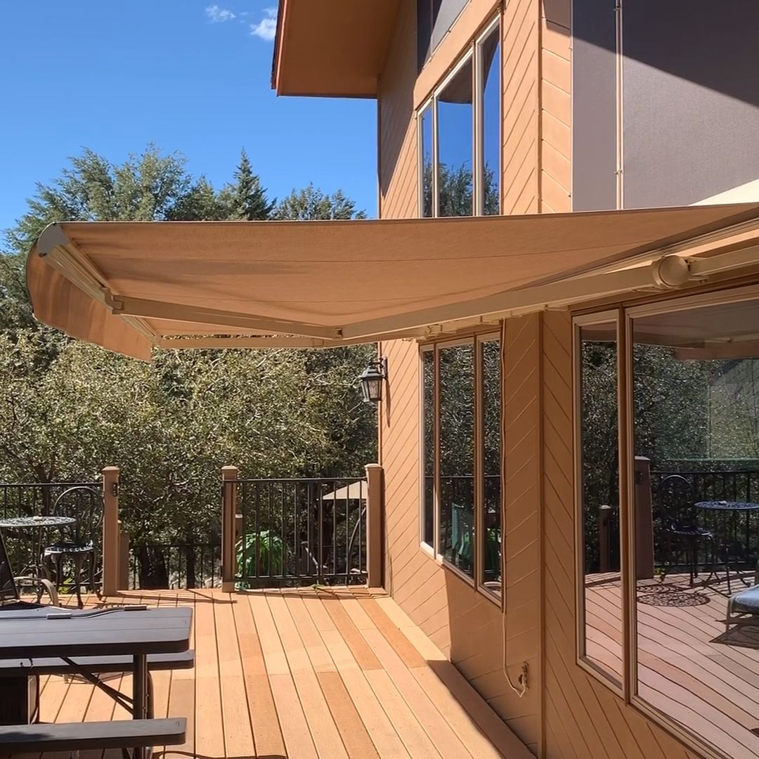 Photo of Retractable Motorized Awnings