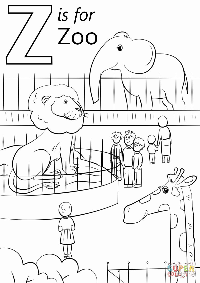 Printables Zoo Animals In 2020 Zoo Animal Coloring Pages Zoo Coloring Pages Preschool Coloring Pages