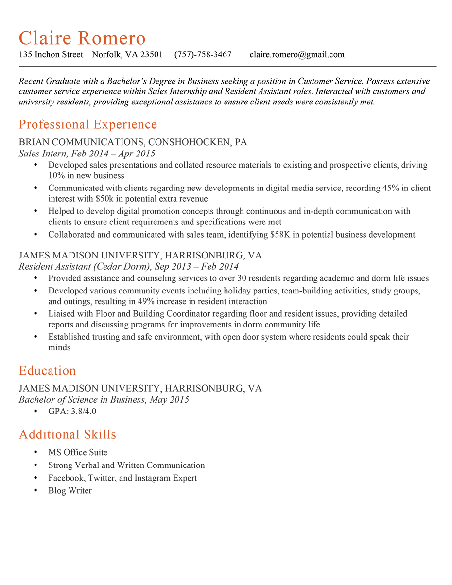 The 6Second Resume Challenge Answers Keep or Trash