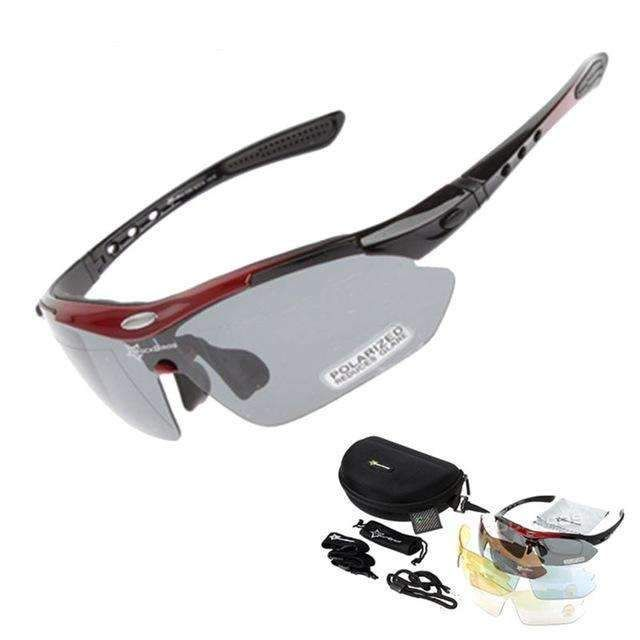 RockBros Bike Polarized Cycling Sunglasses Bike Goggles Outdoor Sports Glasses