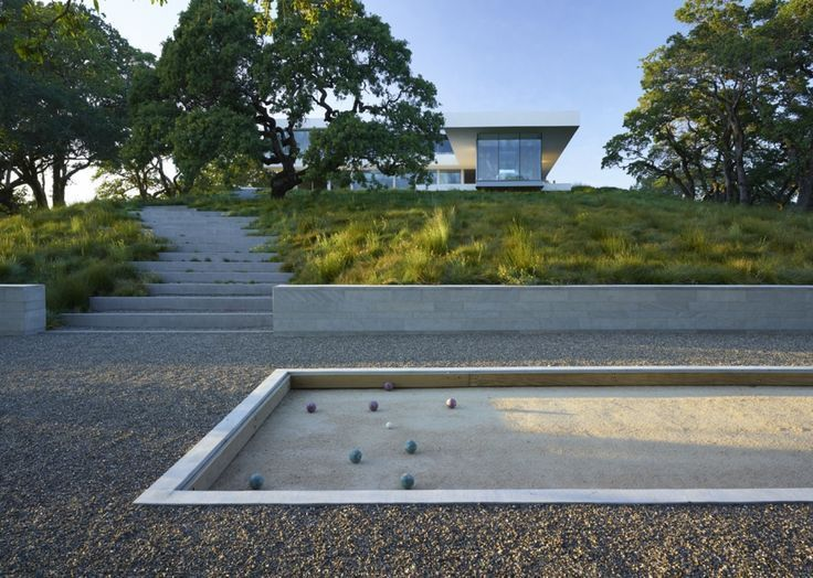 Idee De Terrain De Petanque Jardin Pinte