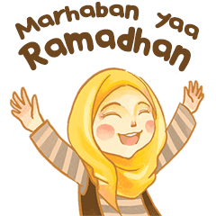 Express Your Chat With This Stickers Have A Blessed Fasting Month For Upcoming Eid Mubarak Lucu Semuanya Lucu Gambar Lucu