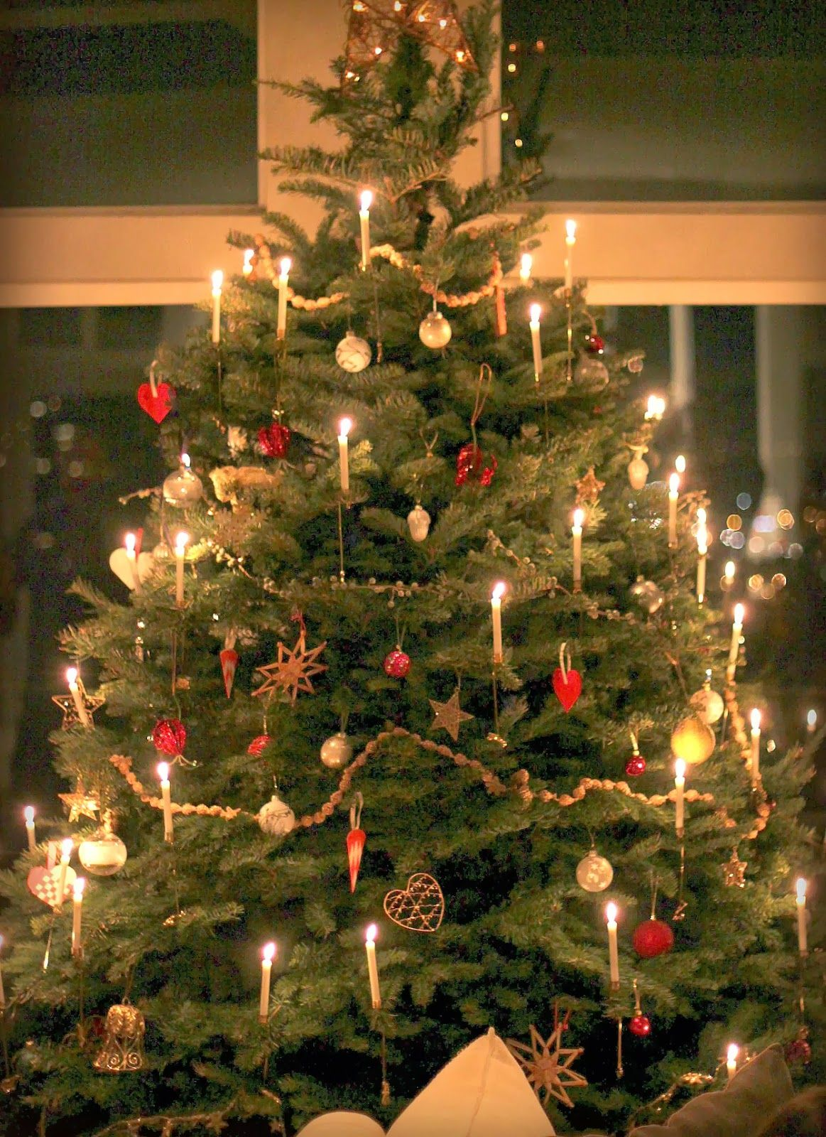 collection christmas tree candles lights pictures best home design
