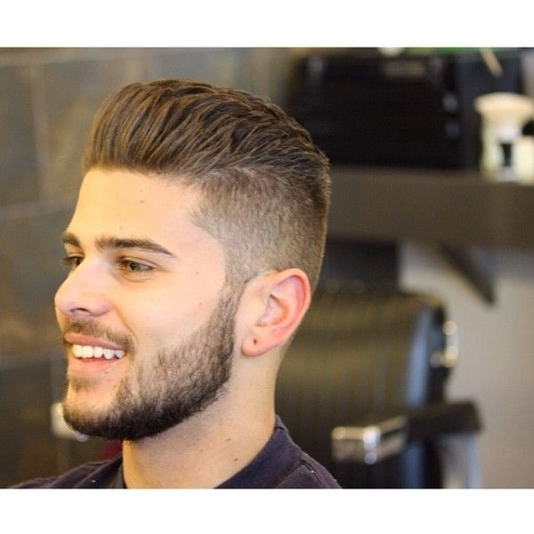 Male Short Haircuts Beard Hairstyle Backcombed Hairstyles Haircuts For Men