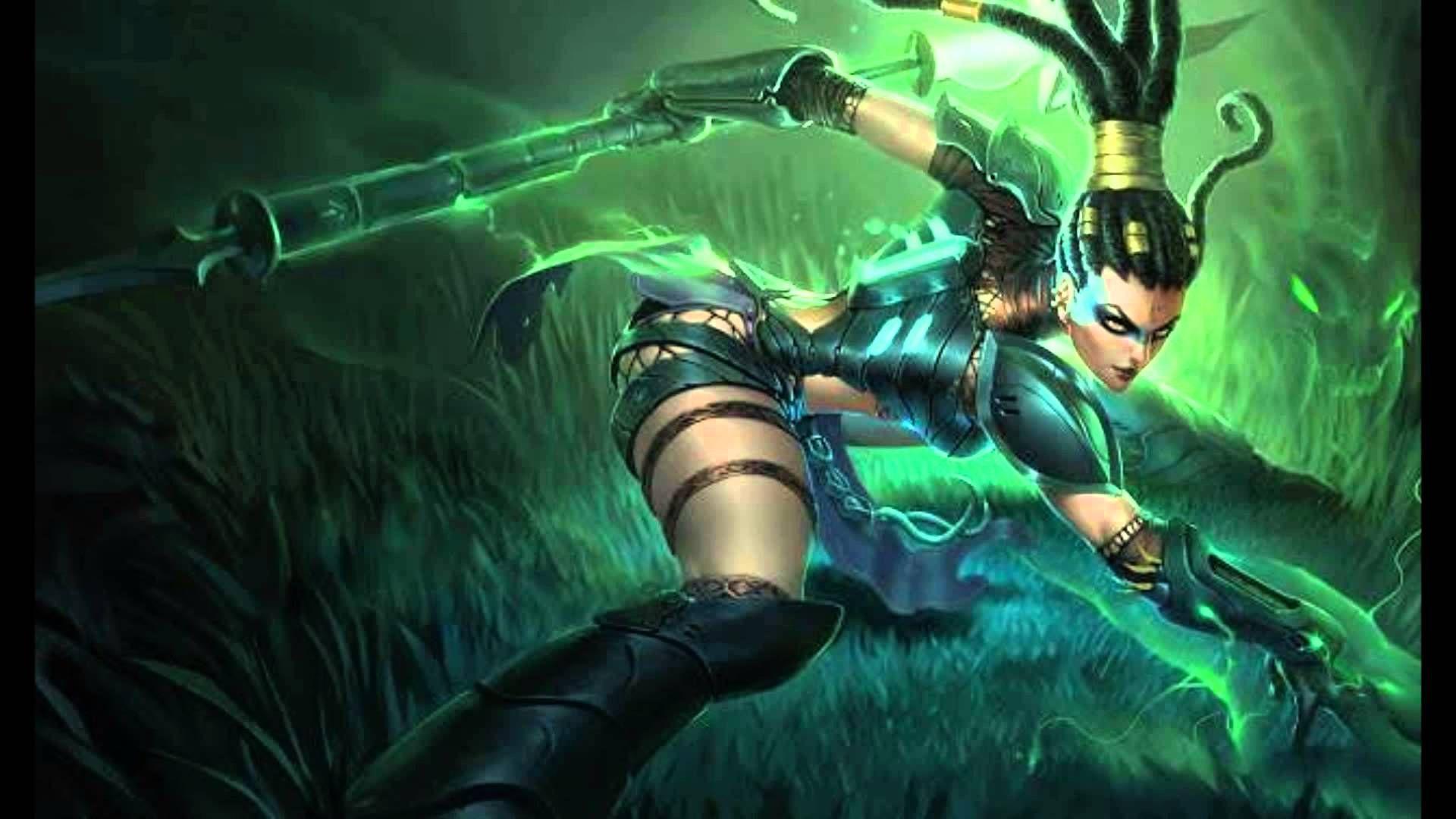 Nidalee Headhunter Skin League Of Legends Characters League