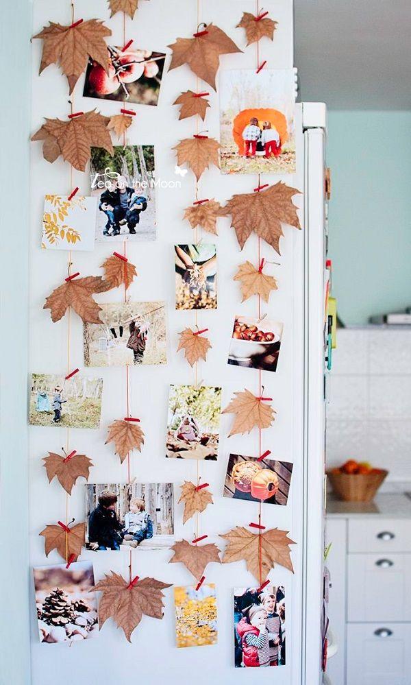 Ideas para decorar con hojas secas y darle un toque de otoo a tu