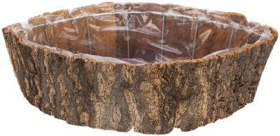 Borken-Pflanzgefäß, braun-natur, 38 x 20 cm € 9,95