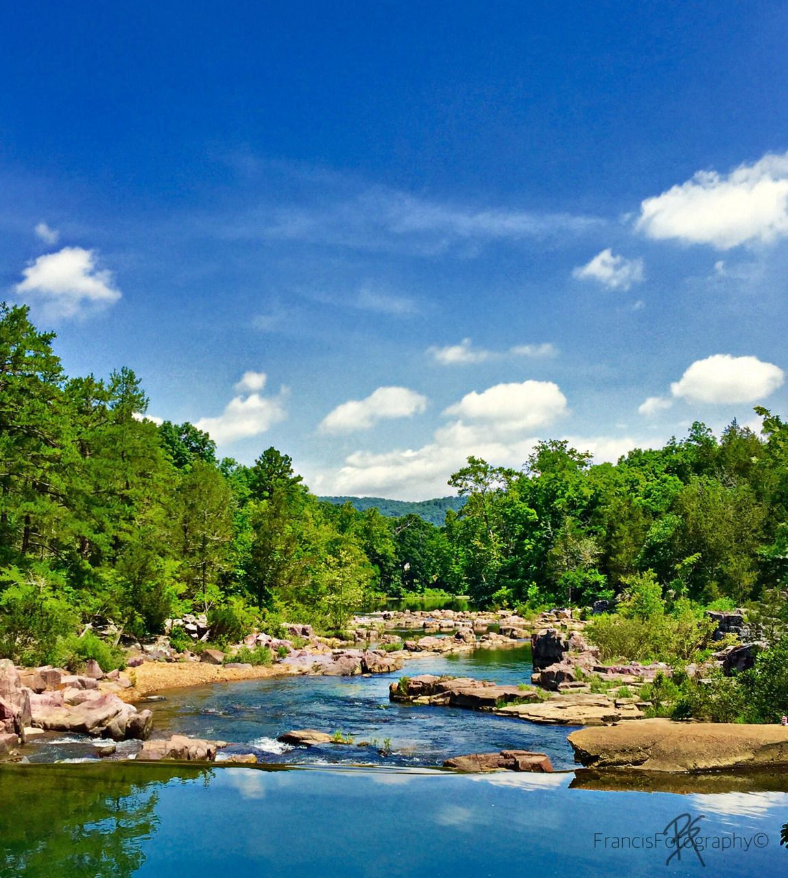 Mark Twain National Forest, Marble Creek. Missouri. Great swimming ...