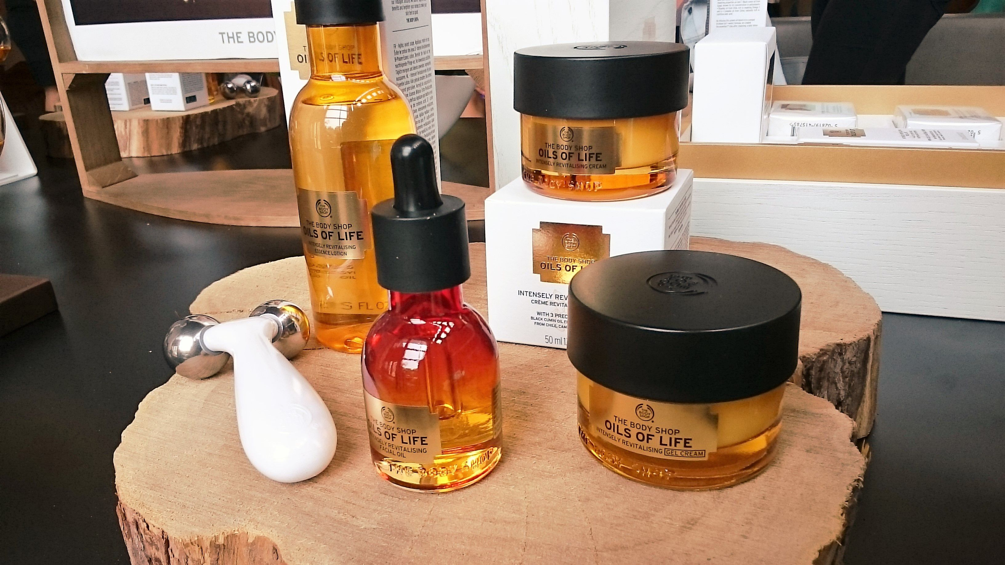 Serendipity – The Body Shop launch of the Oils of Life / Spa