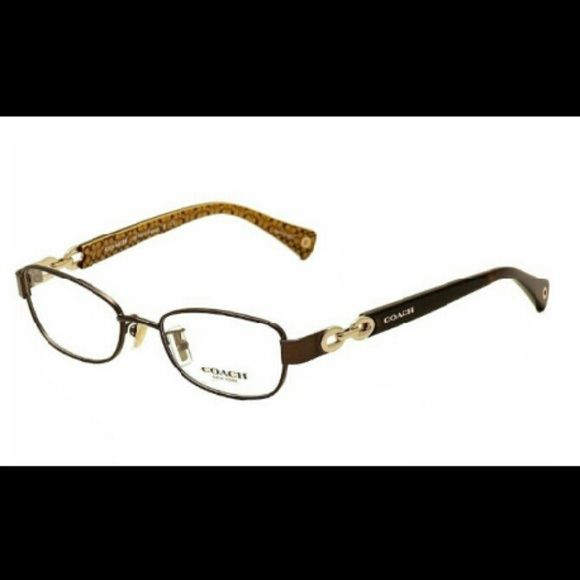 6497ed6ae24f Coach eyeglasses/frames HC 5054 fatina brown, yellow, gold, signature c Coach  eyeglasses/frames. Like new condition, worn very little. Other