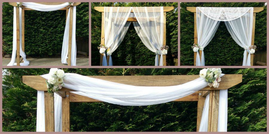 Rustic timber wedding arch for hire melbourne wedding decorations wedding ideas outdoor wedding ceremonies in victoria junglespirit Images