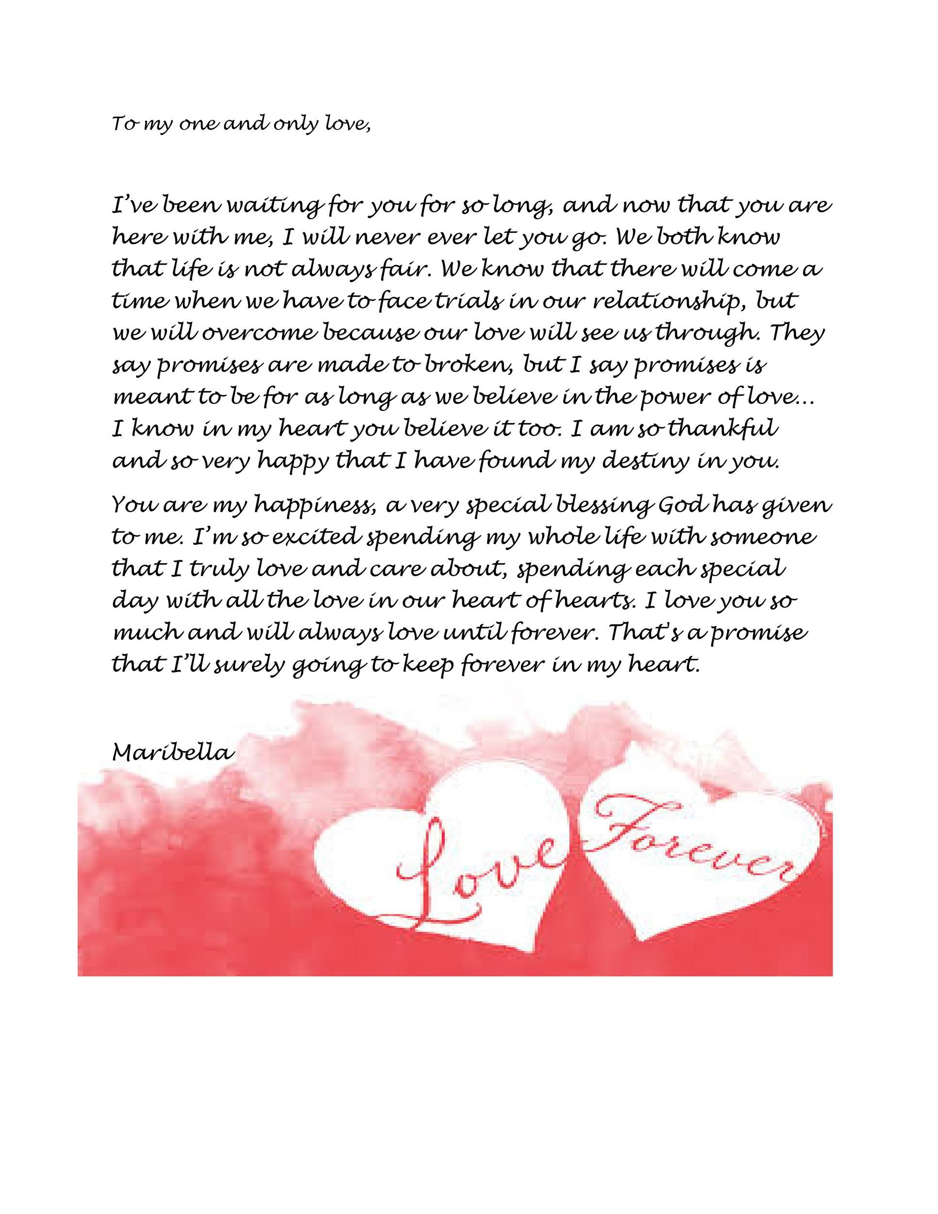 45 Romantic Love Letters For Her For Him Romantic Love Letters Sweet Love Letters Love Letter To Girlfriend