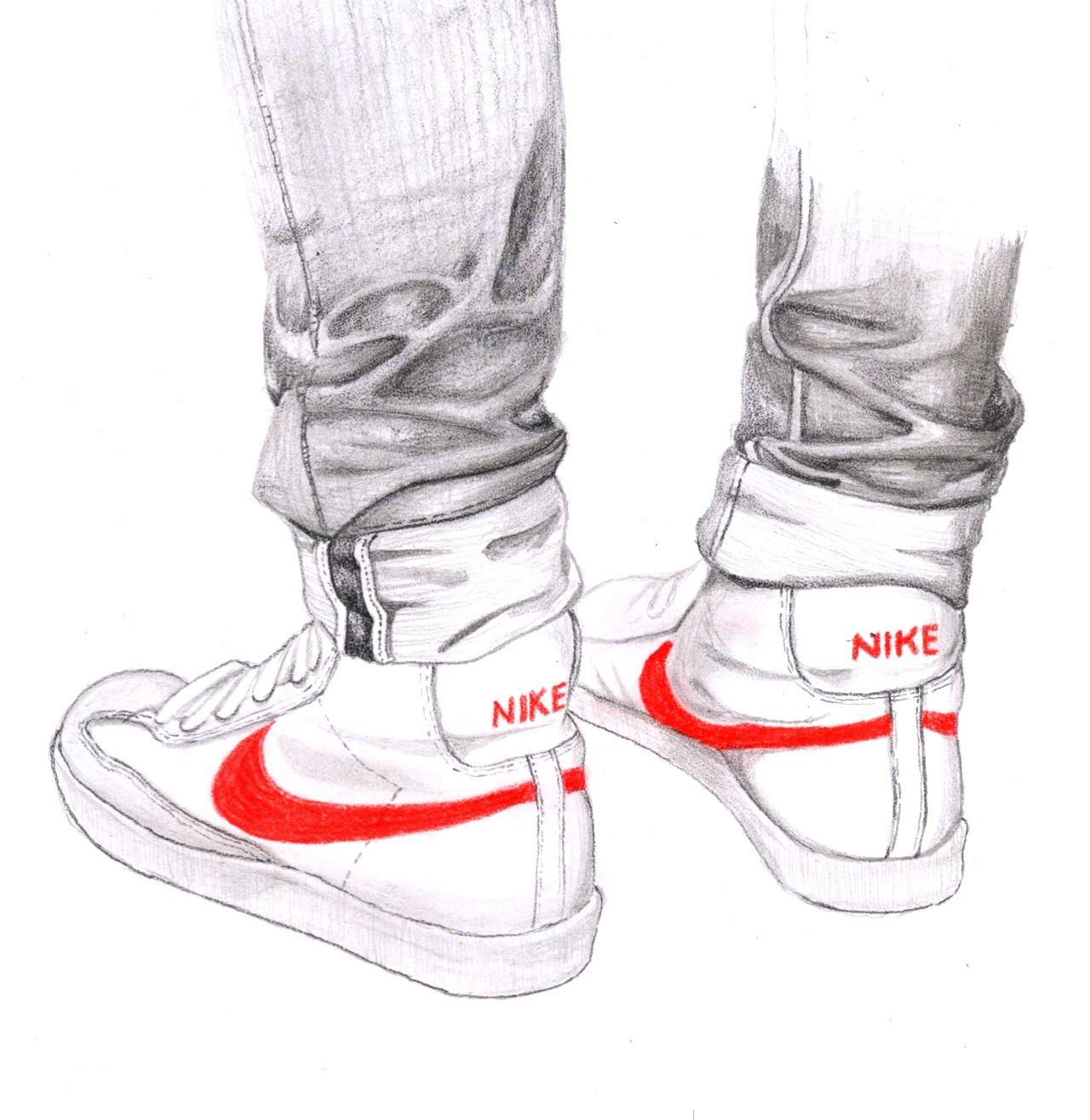 skinnies & nikes. Nike DrawingDrawing LegsDrawing PinFigure DrawingArt  ShoesShoe ...