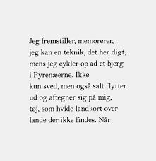 """fra """"Tilbage til unaturen"""" af Rasmus Nikolajsen. Fine tanker om natur, kultur, menneske, dyr - politisk og upolitisk. """"Mens jeg står her på højen og ser himlen bryde sammen, er jeg helt rolig. Det er resten af tiden der er problemet""""."""